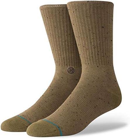Stance Socks Ic/ône 2 Chaussettes Avec Boucle Arc Athletic Nervur/é Terry Support//Toe Sans Couture Fermeture//Talon Renforc/é et Toe