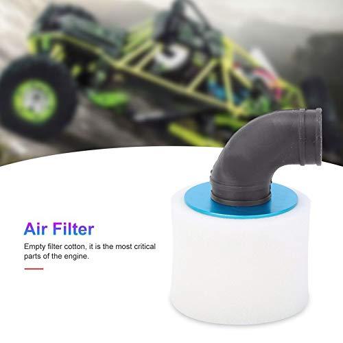 Azul Ca6089 Cloverclover Filtro de aire Filtro de metal vac/ío filtro de aire para Hsp 1//8 Gasolina coche de RC Truck
