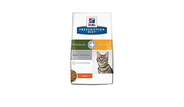 Hill`s Alimento Dietético para Gato Metabolic Plus Urinary - 1,5 kg: Amazon.es: Productos para mascotas