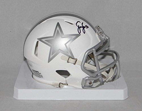 Sean Lee Autographed Dallas Cowboys ICE Speed Mini Helmet- JSA Witnessed Auth (Autographed Dallas Cowboys Authentic Helmet)