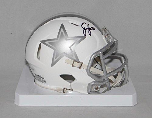 Sean Lee Autographed Dallas Cowboys ICE Speed Mini Helmet- JSA Witnessed Auth (Autographed Dallas Cowboys Authentic Helmet)