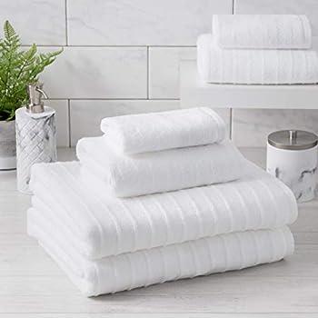Amazon Com Caro Home 6 Piece Bath Towel Set Karissa Jay Carlyle Salina Addison Acapulco