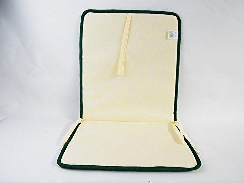Cuscini Con Schienale Per Sedie Da Esterno : Catay home pack di cuscini con schienale pistacchio per sedia da