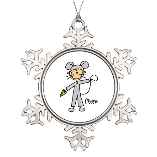 Tinax Tree Branch Decoration Peacockcards Home Amp; Decor Silly Mouse (Silly Snowman Christmas Costume)