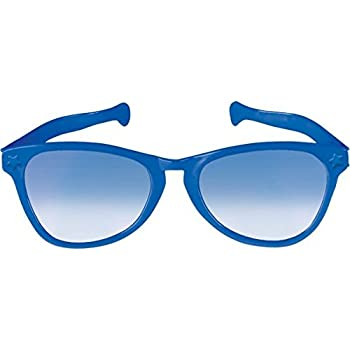 f3907b95f85 Amazon.com  Pudgy Pedro s Blue Jumbo Sun Glasses Party Supplies ...