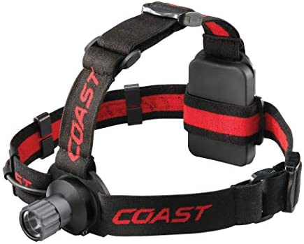 COAST CUTLERY 20991 HL40 LED Head Lamp with Ultra View Fixed Flood Beam
