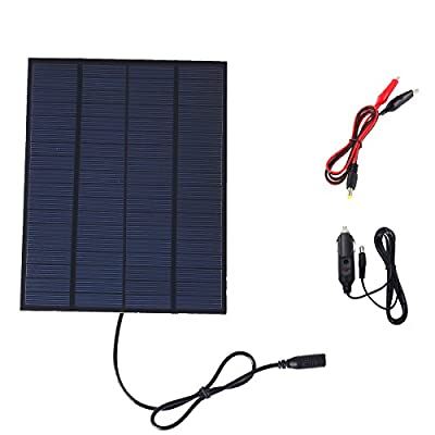 5.5W 18V 190mA Solar Cell Sunpower Charger Solar Panel For Boat Car Battery