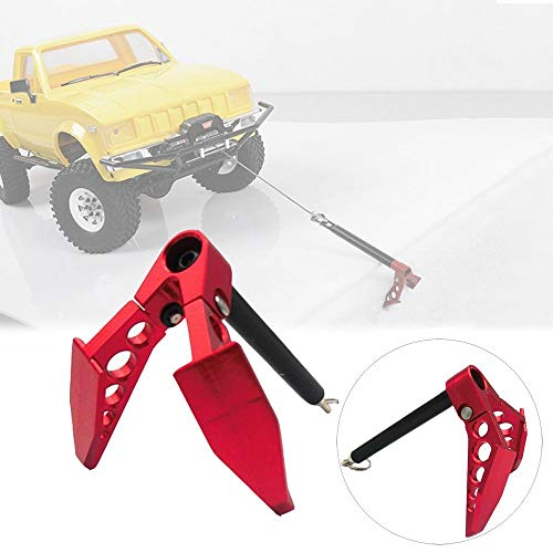 Foldable Winch Anchor Earth Anchor Decoration Tool for 1:10 RC RC Rock Crawler Car