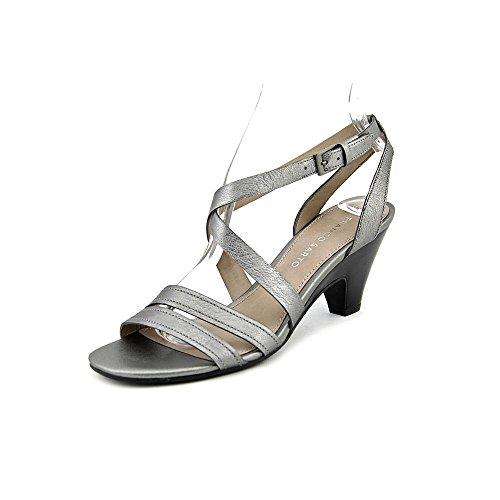 Franco Sarto Province Womens Dress Sandals Piombo Leather