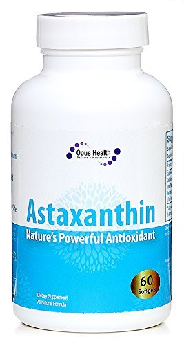 Astaxanthin 10mg (60-Day Supply) Softgels; Nature's Potent Antioxidant & Carotenoid by Opus Health