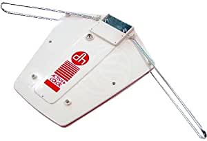 Cablematic - Antena de exterior de TV/TDT UHF/VHF de 24dB tipo portátil
