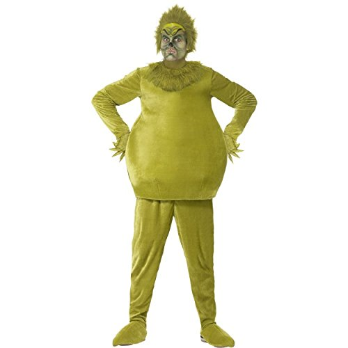 The Grinch Costumes (Adult's The Grinch Costume)