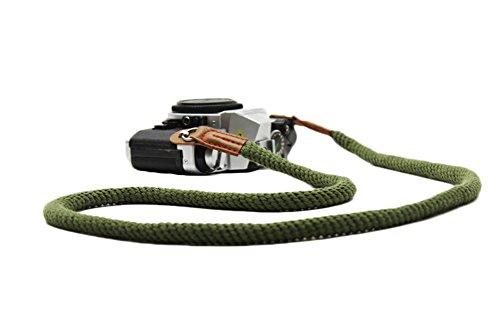 DOROM Vintage Handmade Cotton Leather Camera Neck Strap for Leica Nikon Fuji Pentax Canon Panasonic Sony