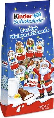 Kinder Schokolade Lustige Weihnachtsbande 12 Pieces