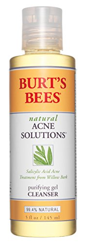 Burt's Bees Natural Acne Solutions Purifying Gel Cleanser, 5 Ounces