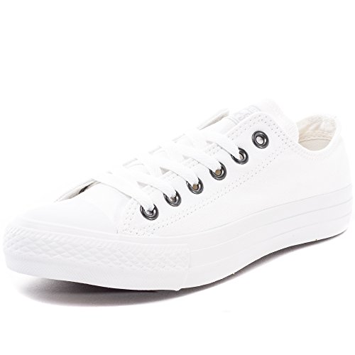 Converse Chuck Taylor all Star, Sneakers Unisex – Adulto Bianco (Monocrom)