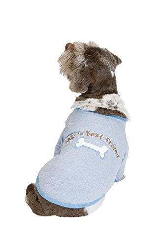 PajamaGram Blue 'Man's Best Friend' Pajamas for Dogs