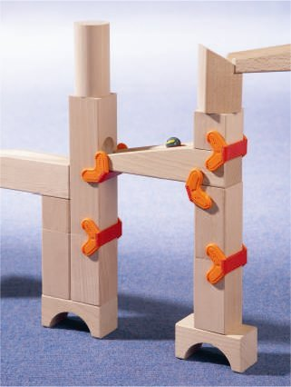 HABA Clamps and Ramps Marble Ball Track Accessory (Made in Germany)