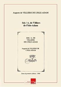 Isis par Villiers de l'Isle-Adam