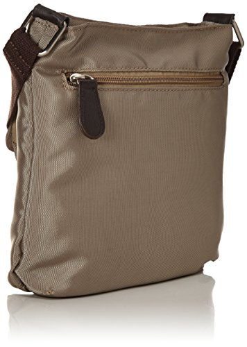 Betty Barclay Damen K-0 Td Umhängetasche, Beige (Natural), 6x22x22 cm