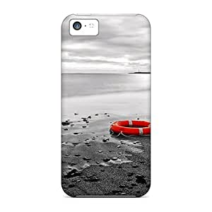 New Life Saver Skin Case Cover Shatterproof Case For Iphone 5c by ruishername