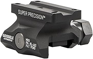 Geissele Automatics Super Precision MRO Series Optic Mount Absolute Co-Witness, Black