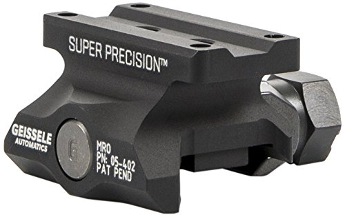 - Geissele Automatics Super Precision MRO Series Optic Mount Absolute Co-Witness, Black