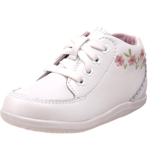 Stride Rite SRTech Emilia Bootie ,White,4.5 M US Toddler