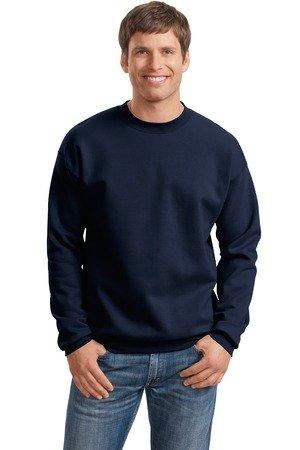 10 Oz Sweatshirt Cotton Crewneck - Hanes Ultimate Cotton - Crewneck Sweatshirt, F260, Deep Navy, 3XL