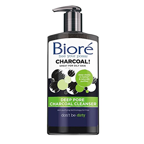 Biore Deep Charcoal Cleanser Ounces product image