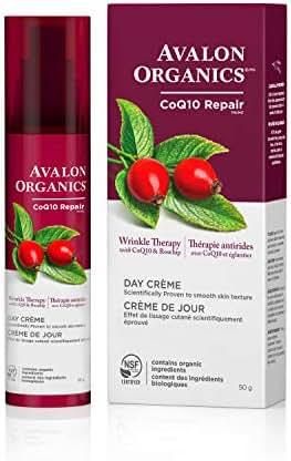 Avalon Organics Wrinkle Therapy Day Crème, 1.75 oz.
