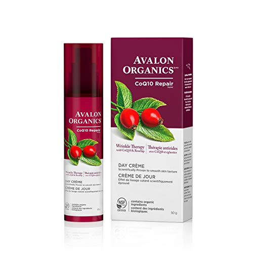 Avalon Organics Wrinkle Therapy Day Crème, 1.75 oz.