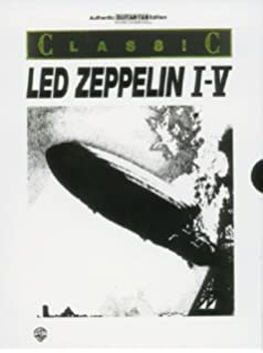 Led Zeppelin V -- Houses of the Holy Platinum Guitar: Authentic Guitar TAB (Alfreds Platinum Albums)
