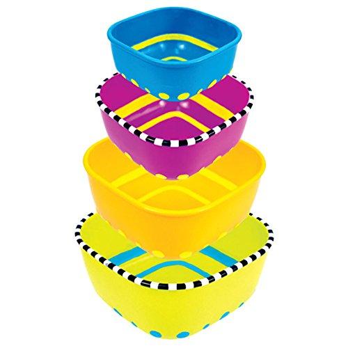sassy snack bowl set - 2