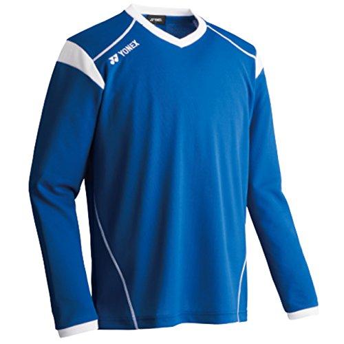 ヒープ囲いそれにもかかわらずヨネックス ユニゲームシャツLS FW1003 002 ブルー