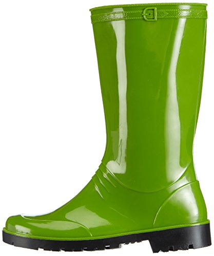 groen Dameslaars 08 Femme Chuva Bottes Pvc grün 37 Iris Groen Vert zxv7Cv6q5w