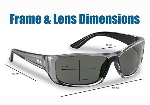 Soleil Polarisées Lunettes Buchanan de Gunmetal Lens Crystal Frames Smoke Pêcheur Flying pZSAqwSI