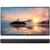 Sony KD49X720E 49-Inch 4K Ultra HD Smart LED TV with (HT-S100F) S100F 2.0ch Soundbar with Integrated Tweeter