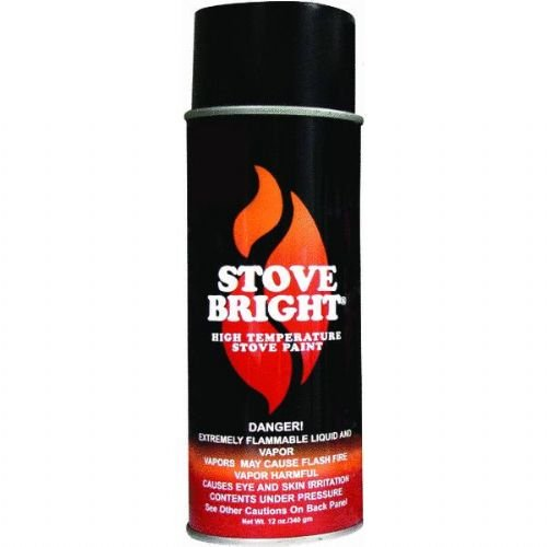 - Stove Bright 6309 Stove Bright™ High Temperature Metallic Black Stove Paint