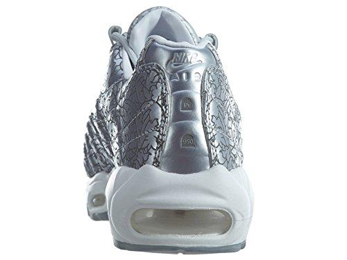 Nike Air Max 95 Anniversary QS Schuhe Sneaker Neu Silber Silber
