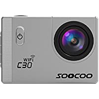Tiean SOOCOO C30 Action Camera 4K 20MP 2.0 Inch Waterproof Diving With Sports Camera