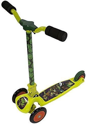 Teenage-Mutant-Turtles-leaning-Scooter