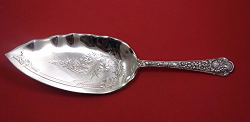 - Cluny by Gorham Sterling Silver Fish Server Bright Cut 11 1/2