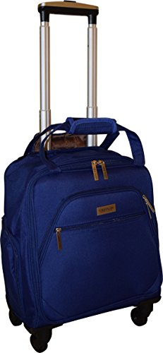 New York Chocolate Travel 18 Inch Carry-On Wheeled Luggage (Blue) by New York Chocolate Travel (Image #2)
