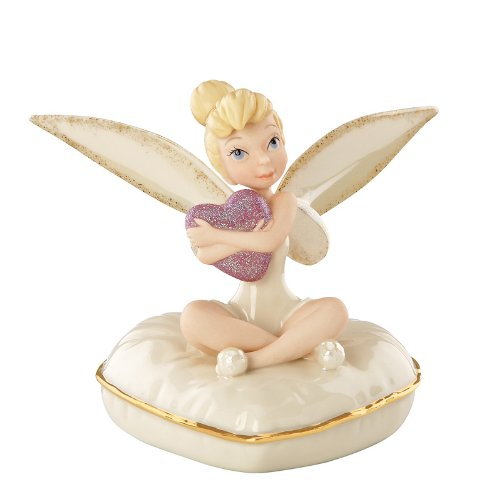Heart Lenox (Lenox Classics Tinker Bell Pixie Heart Platinum Limited Edition Of 300)