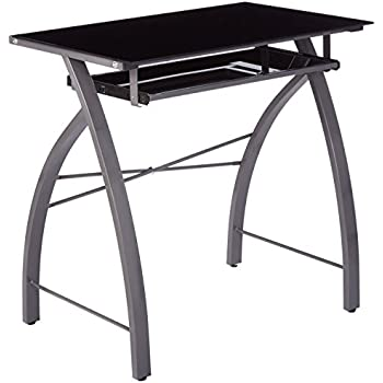 Amazon Com Kings Brand Furniture Black Glass Top With