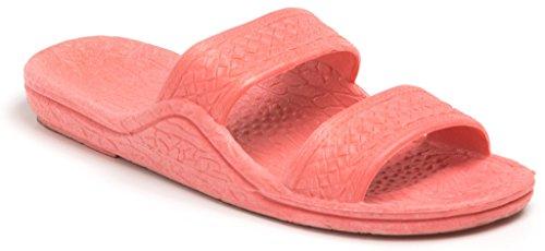 Rubber Slip Slipper Pali Hawaii Slide Brown Unisex Sandals On Sandal Pink Comfortable qdX0T