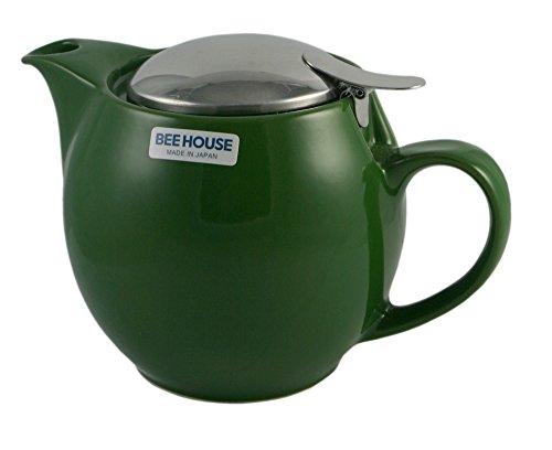 Bee House Teapot 15oz - Forest Green Forest Green Teapot