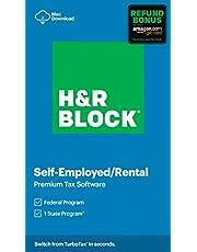 $38 » H&R Block Tax Software Premium 2020 with Refund Bonus Offer (Amazon Exclusive) [Mac Download]