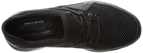 Skechers USA Glides para Hombre Kenton Slip-on Loafer, Negro